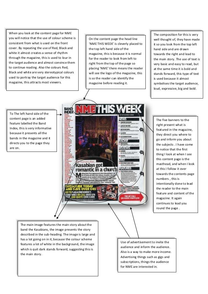 Content page 1