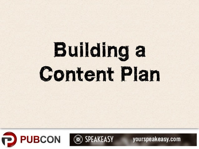 Content Planning and Content Marketing