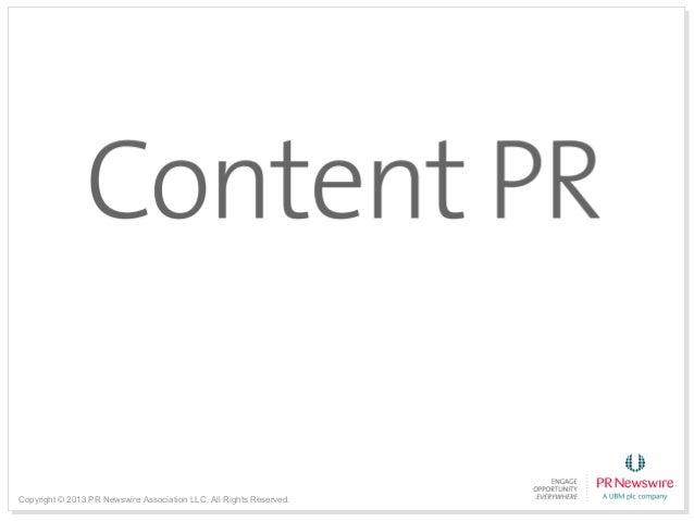 Content pr 2014