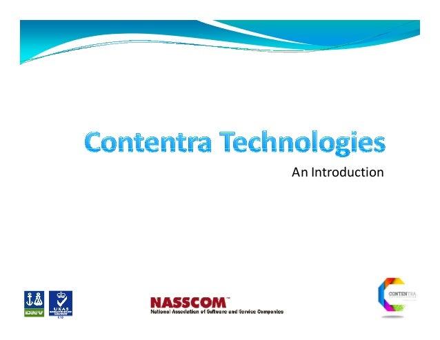 Digitisation Days - Contentra technologies