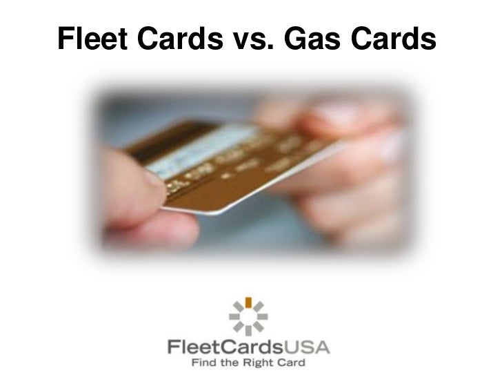 Fleet Cards vs. Gas Cards<br />