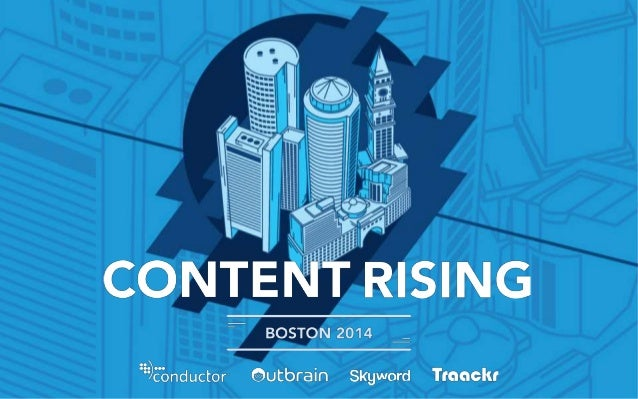 Content Rising | Boston 2014