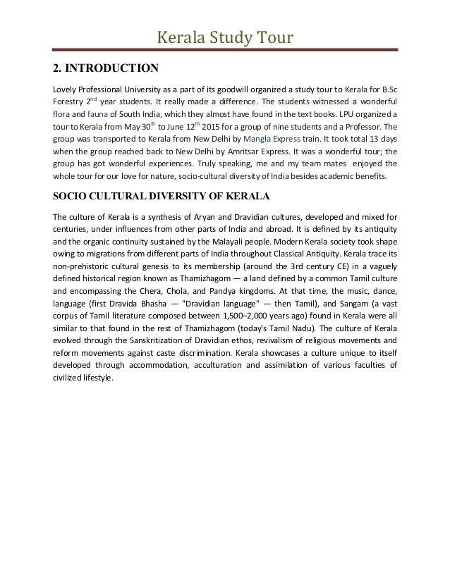 Case Study Kerala Tourism | Kerala | Tourism - Scribd