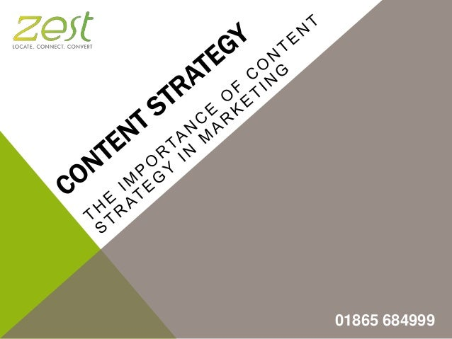 Content Strategy: The Importance of Content Strategy in Marketing