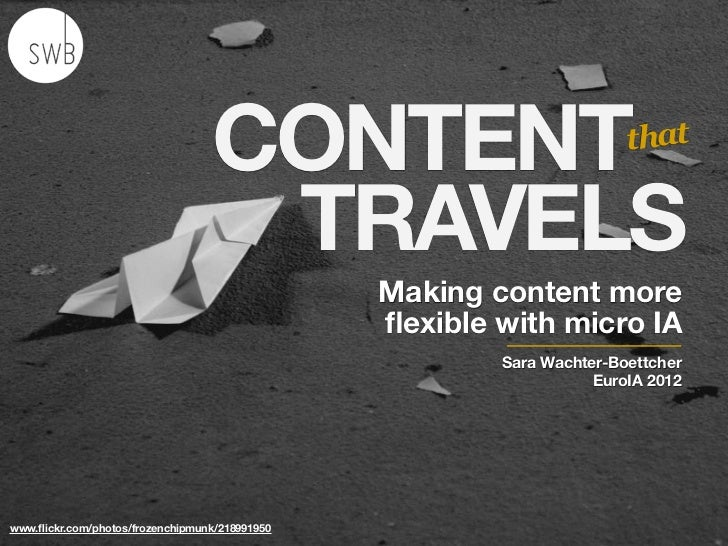 CONTENT                              that                                   TRAVELS                                       ...