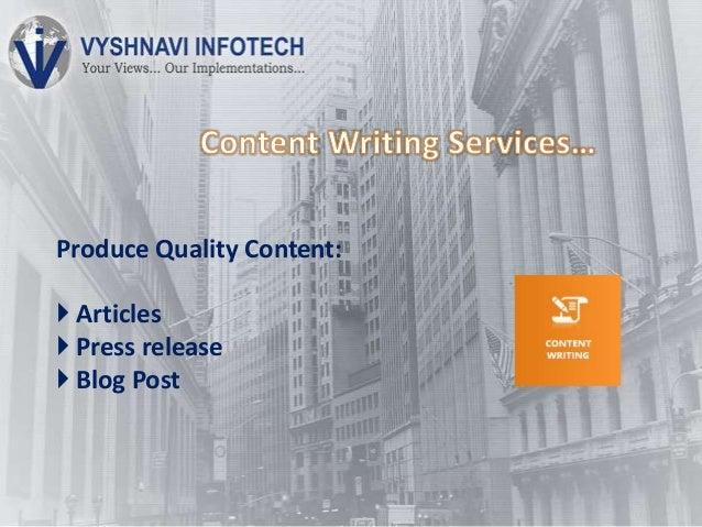 Content writing companies usa
