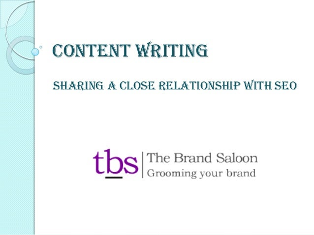 Content Writing Sharing A Close Relationship With SEO