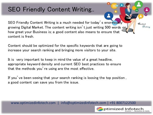 Content writing services company
