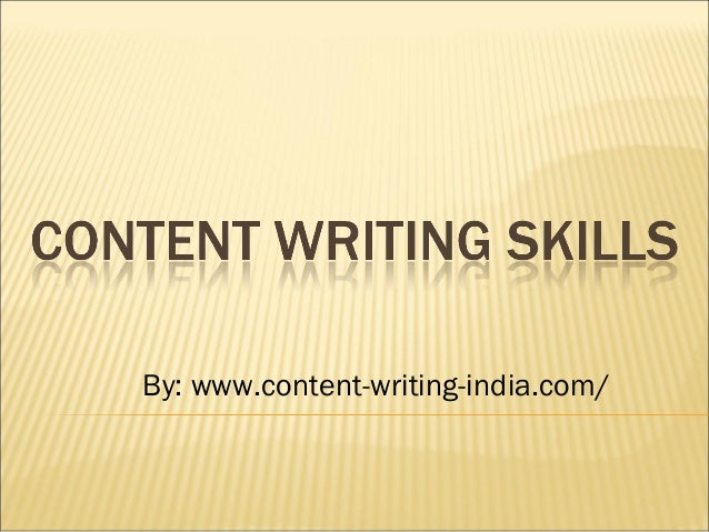 Content writing tips and skills for content writer