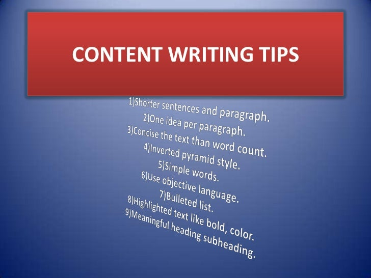 Best content writing
