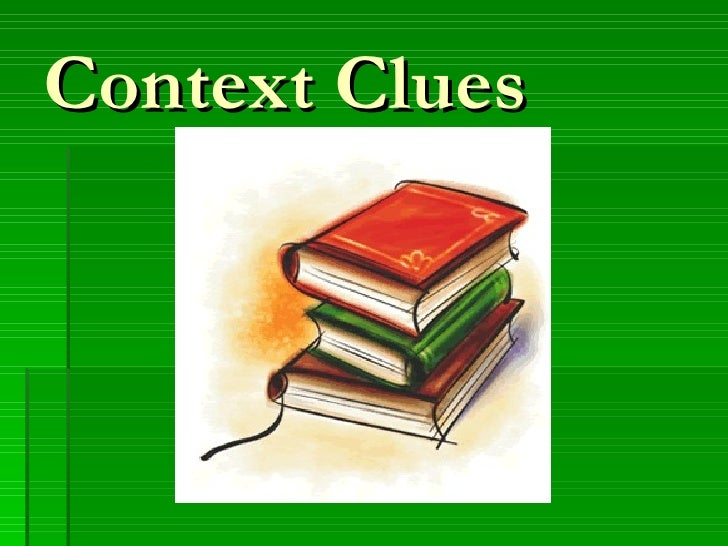 Context clues powerpoint mp