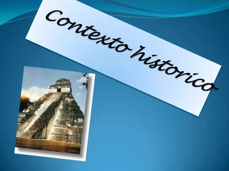 Contexto historico