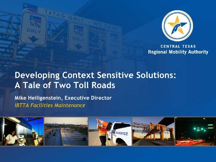 Mike Heiligenstein: Developing Context Sensitive Solutions