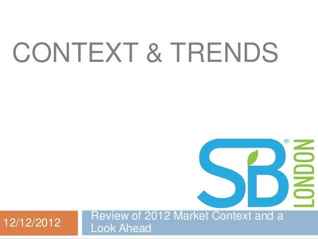 Context & trends