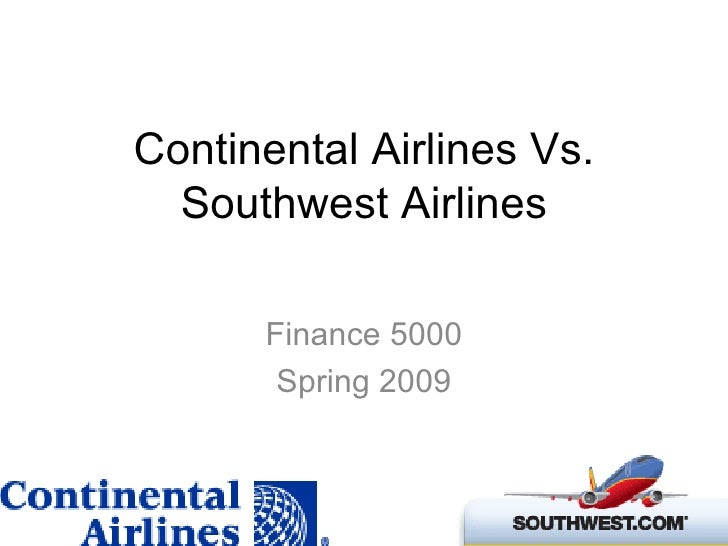 comparing southwest and continental airlines United airlines is the fourth largest airline in the united states and one of the largest airlines in the world united's history dates back to the beginning of the aviation history.