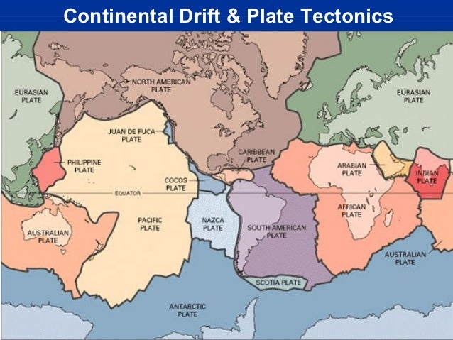 Notes: Continental Drift Plate Tectonics