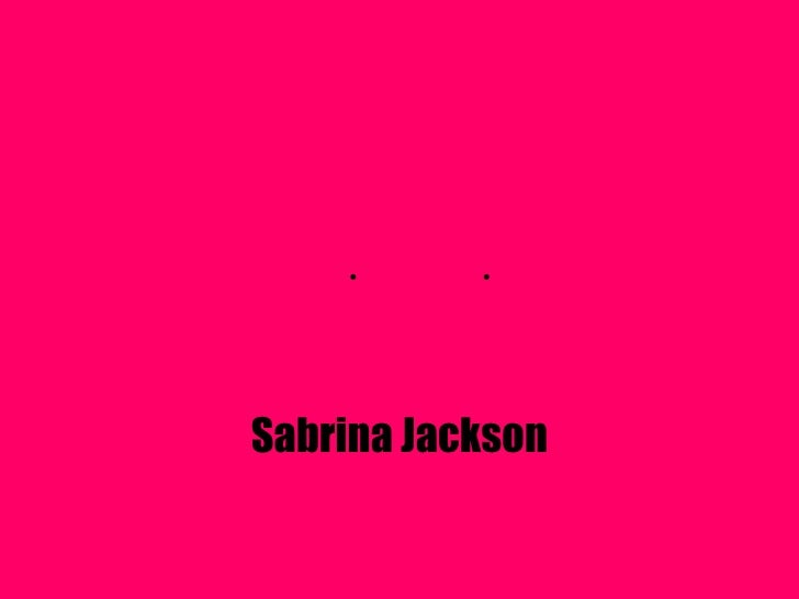  Sabrina Jackson