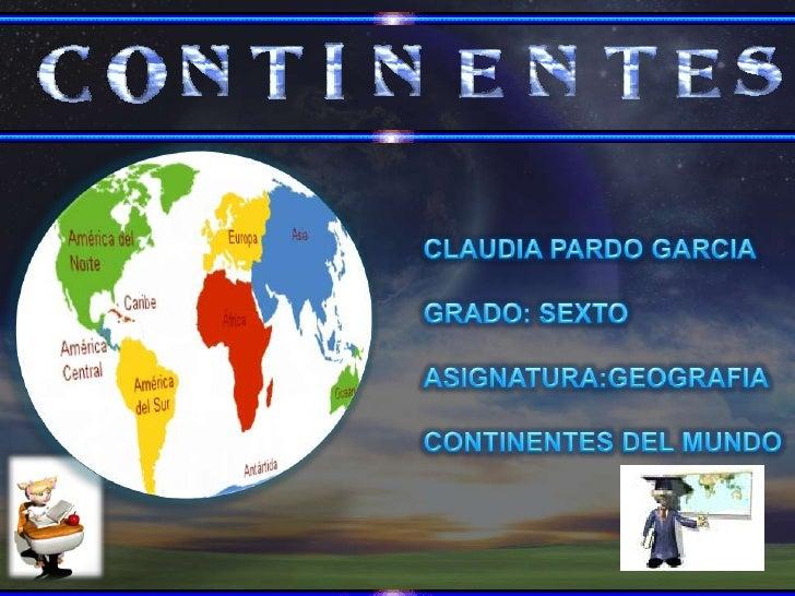 Es una gran extensión de tierra que se diferencia de otras menores o sumergidas por conceptos geográficos y culturales com...