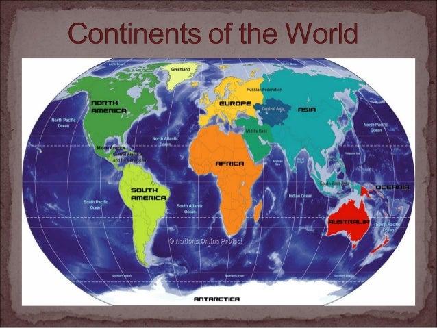 """ """"Continentsareunderstoodtobelarge,continuous,discrete  massesofland,ideallyseparatedbyexpansesofwater. ..."""