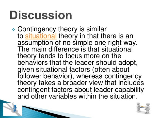 explaining contingency perspectives and fit Propensity for innovation adoption : integration of structural contingency and resource dependence perspectives abac journal vol 21 no1 (january - april, 2001.