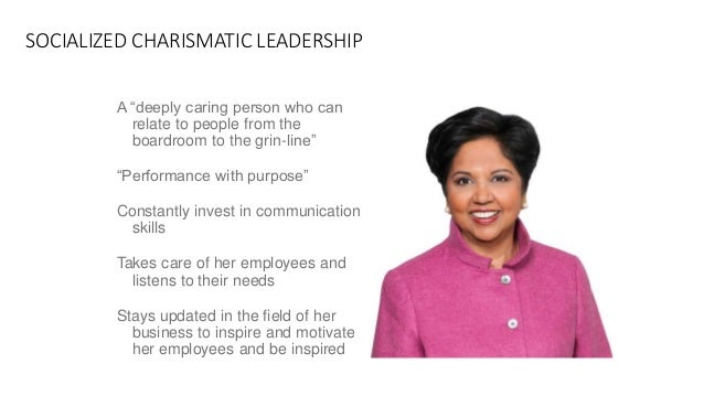 indra nooyi uses the full range of leadership