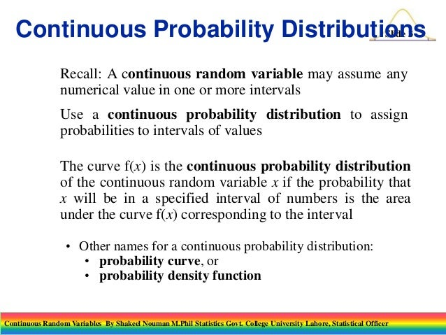 random variables and probability distributions examples pdf