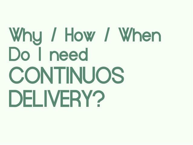 """Саша Белецкий """"Continuous Delivery в продуктовой разработке"""""""