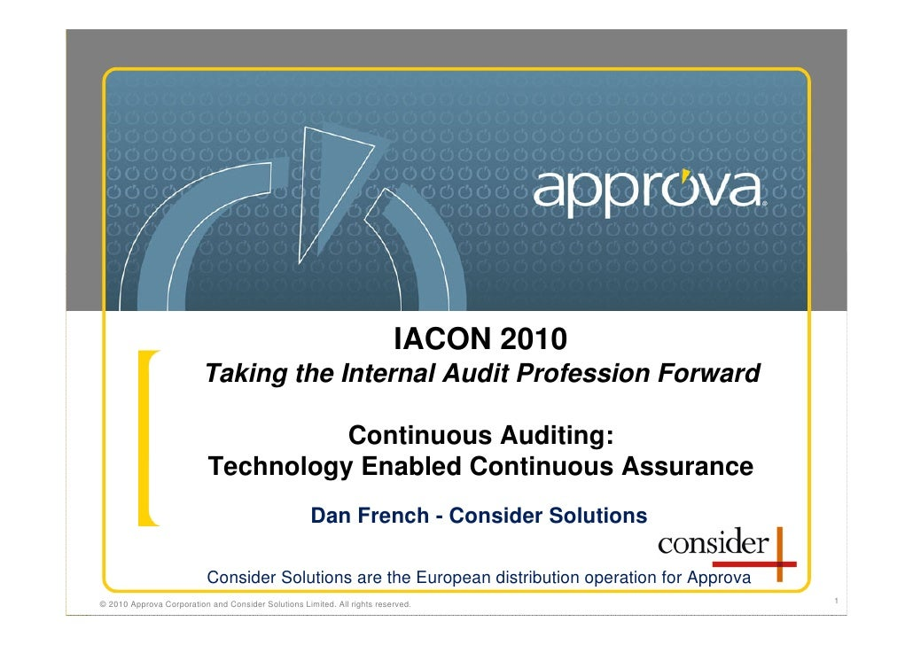 Continuous Auditing D.French