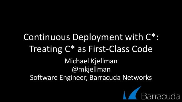 Continuous Deployment with Cassandra