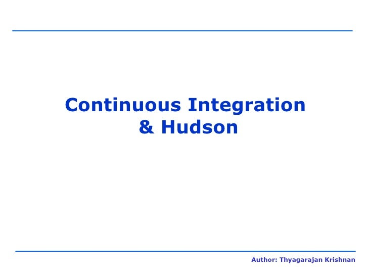 Continuous Integration System