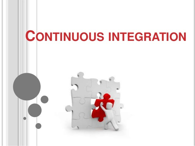 Continuous integration for se group meeting