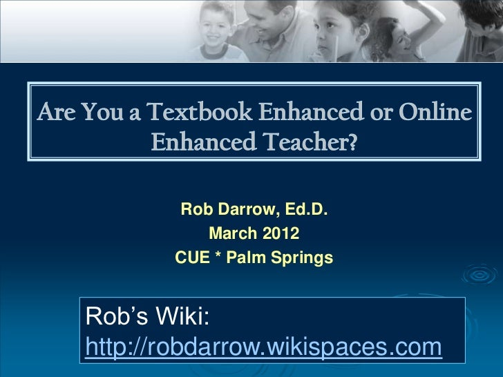 Textbook to Online Teaching and Learning