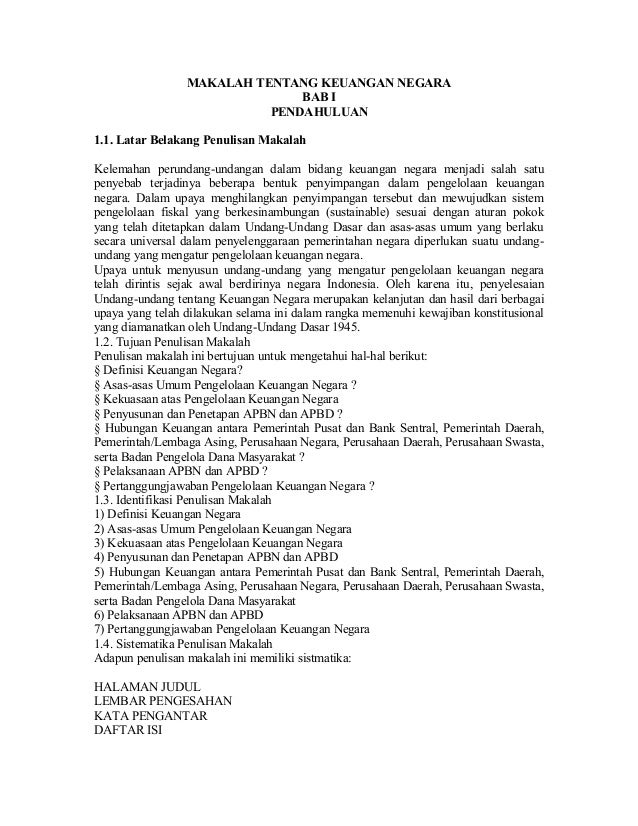 Contoh makalah-tentang-keuangan-negara