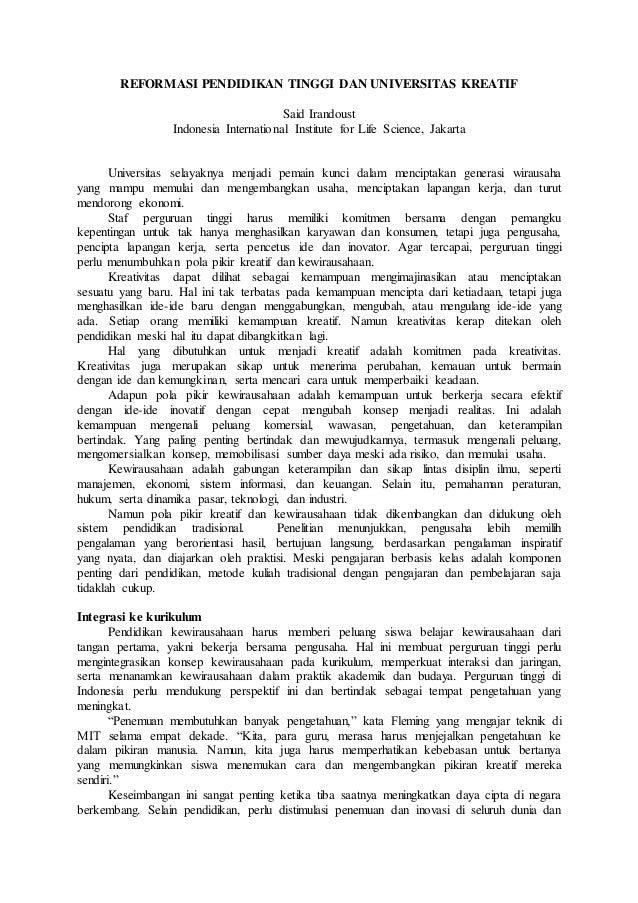 artikel pendidikan contoh artikel tentang pendidikan