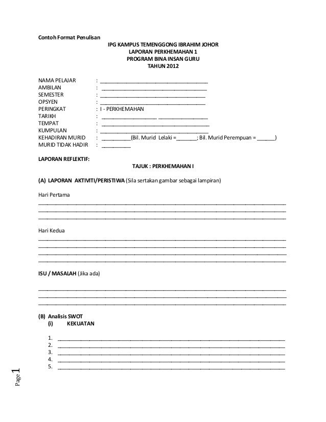 Contoh format penulisan_portfolio_perkhemahan_i