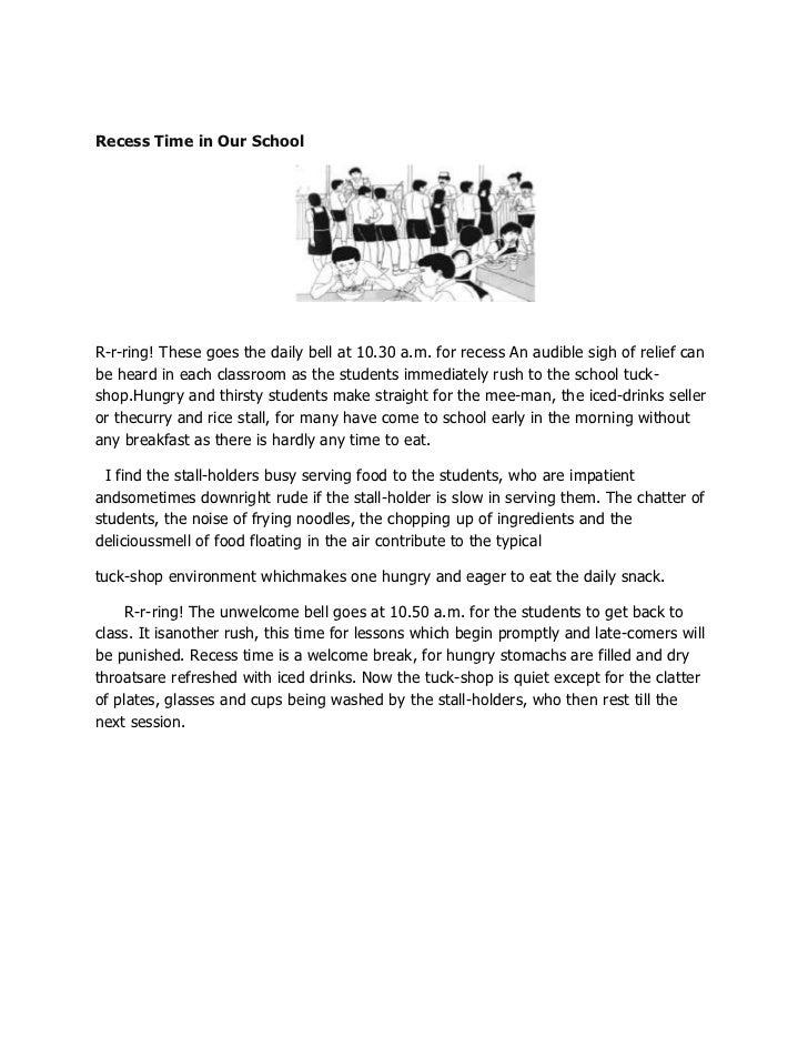 news report essay spm holiday