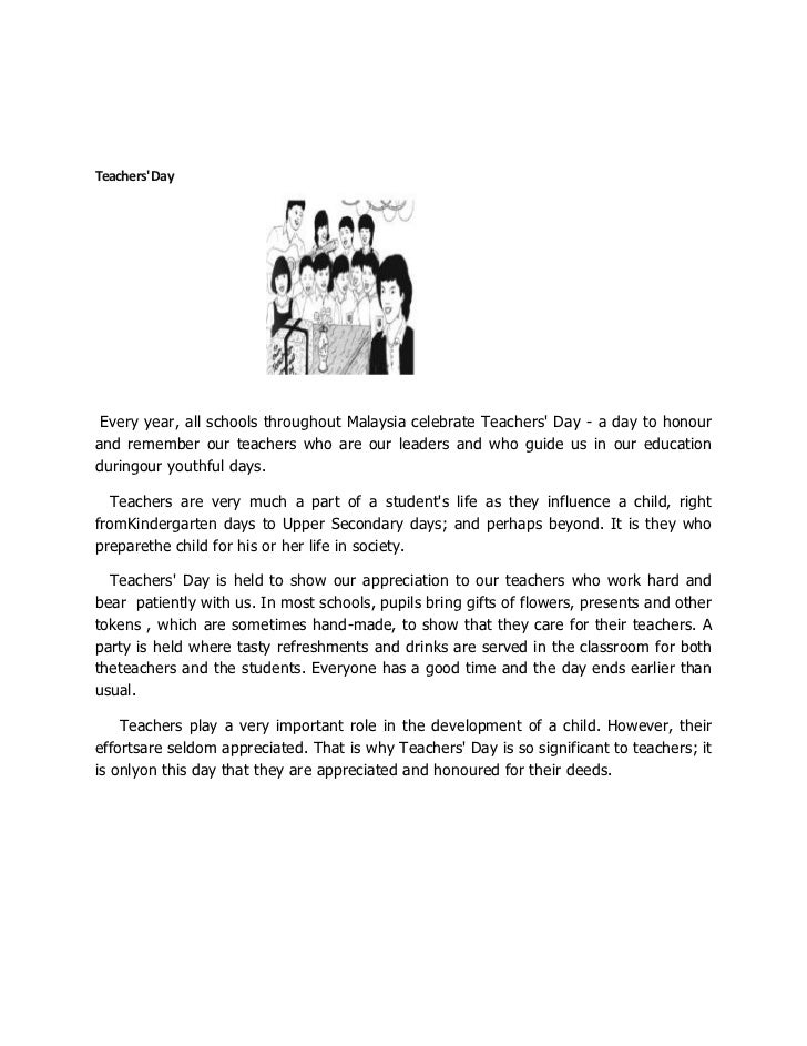 English essay for standard 5