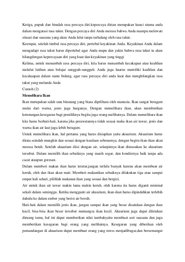 Contoh Karangan Persuasi Bank Semarang