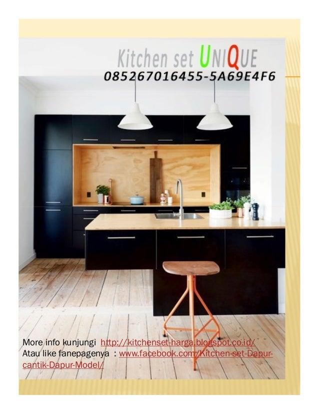 contoh kitchen set dapur mungil harga kitchen set atas