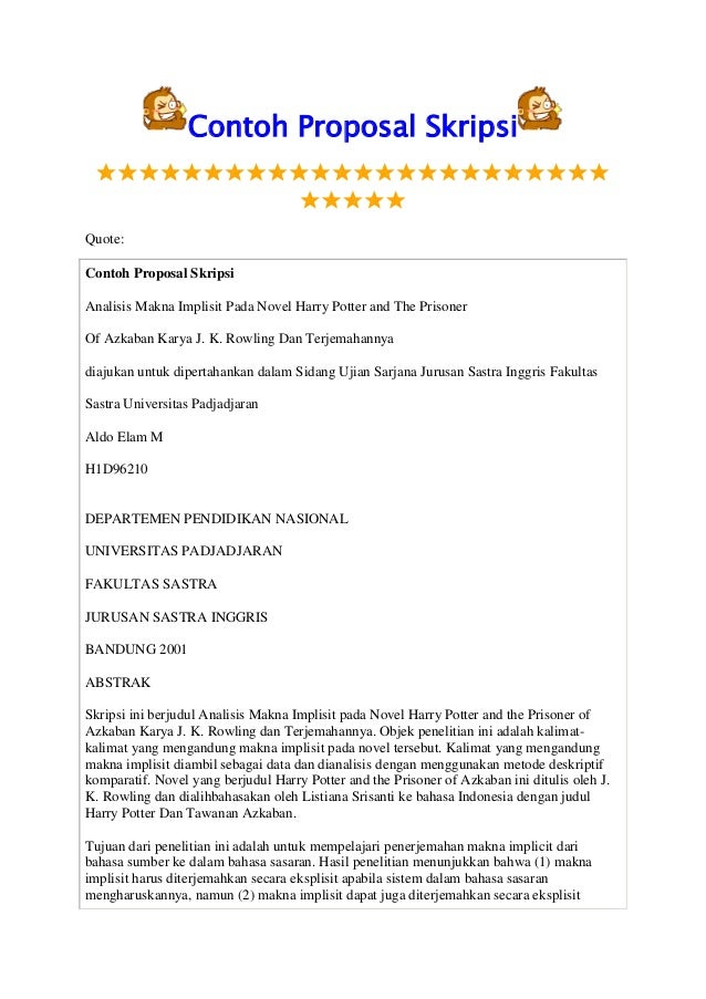 contoh proposal thesis hukum