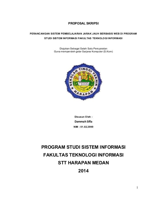 Judul Contoh Proposal Tesis Perencanaan Pembangunan