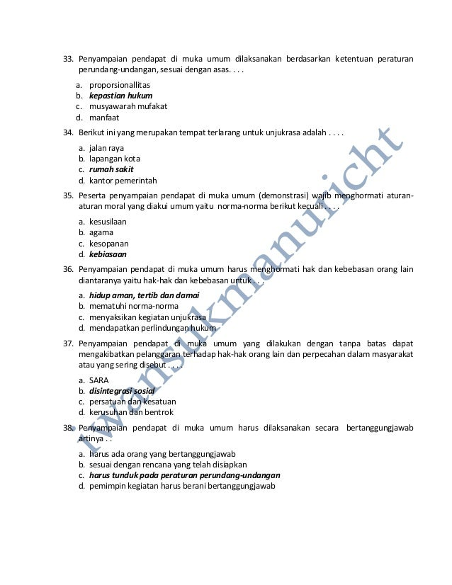 Contoh Soal Dan Jawaban Tes Intelegensi Umum Soal Dan Kunci Jawaban Latihan Ulangan Umum