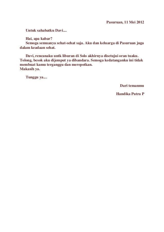 Surat Resmi Dan Tidak Resmi Dalam Bahasa Sunda Rasmi O