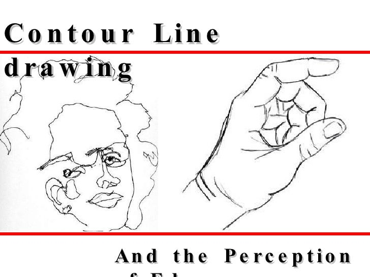 Contour Line Drawing Demo : Contour line