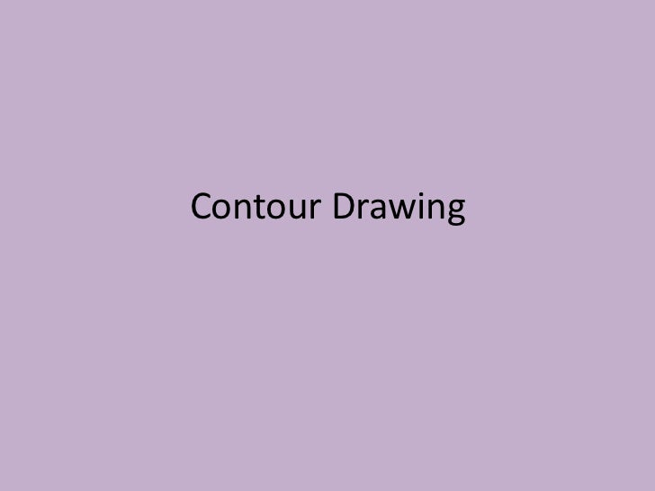 Contour line drawing warhol