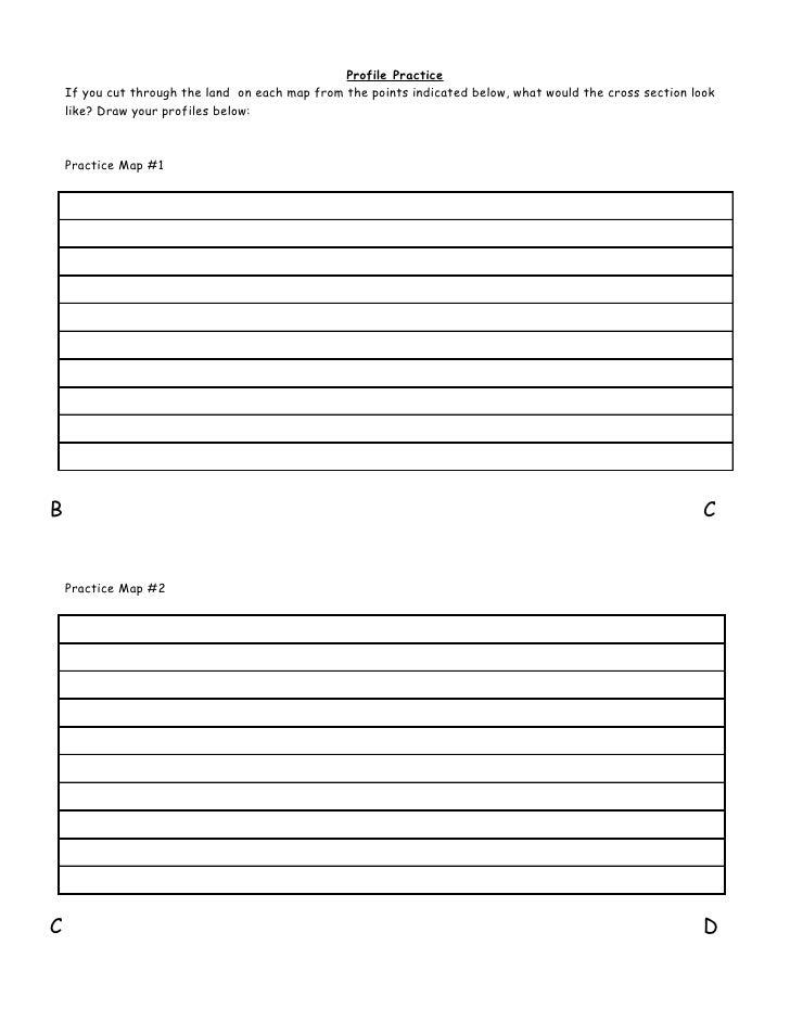 Contour Line Drawing Practice : Contour lines practice