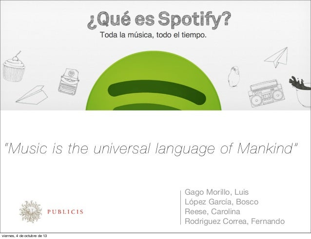 Contra briefing Spotify