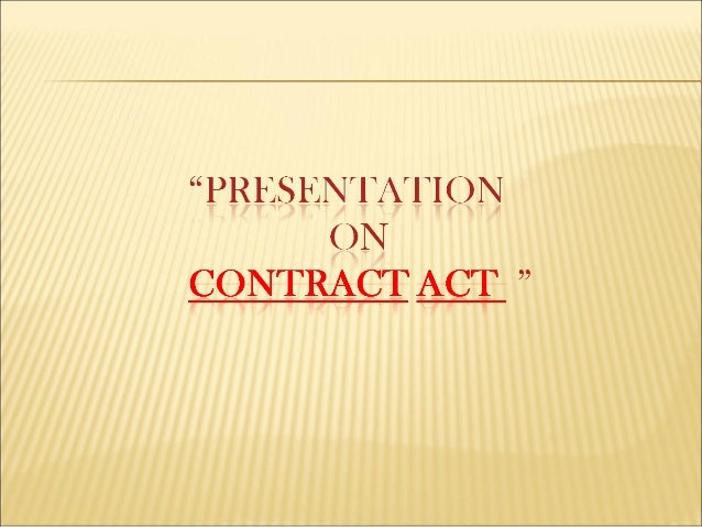 Contract act..