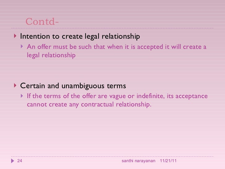 Contract law - intention to create legal relations between friends?