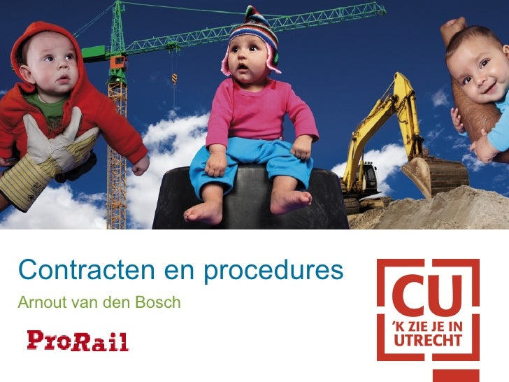 Contracten en procedures Arnout van den Bosch
